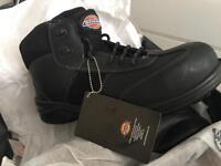 Dickies size 7 steel toe cap boots never worn.