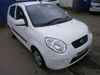 2009 KIA PICANTO 1.0 5DOOR, HATCHBACK,HPI CLEAR, FULL SERVICE HISTORY, CLEAN CAR, DRIVES LIKE NEW