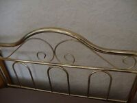 single size brass type headboard ex cond