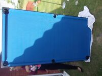 Pool Table blue perfect condition £50