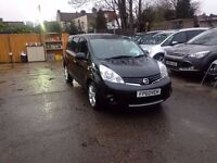 Nissan Note 1.6 16v N-TEC 5dr- GURANTEED MILEAGE- 3 MONTHS WARRANTY- NEW STOCK