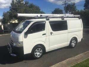 Ex Telstra Toyota Hiace LWB 2013 Automatic, Turbo Diesel, 106,558 Lidcombe Auburn Area Preview