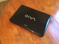 Sony Vaio (Intel Core i3 + 3 GB + 500 GB + Built in webcam+ Windows 7 + Good condition)