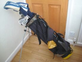 Full set Mizuno golf clubs Irons 3,4,5,6,7,8,9+Pitch&Sand Wedges Drivers 1,3,5+ putter + stand bag