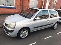 Renault Clio 2004, 1.2 16V Petrol, Low Mileage/Tax/ Insurance