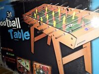 Football table brand new