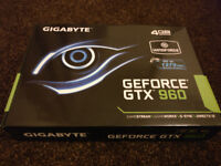 Gigabyte GTX 960 4GB Windforce - boxed - backplate version