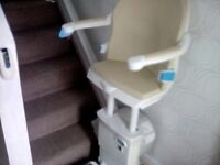 MINIVATOR STAIR LIFT FOR STRAIGHT STAIRS..IN EXCELLENT, WORKING CONDITION.