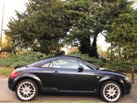 AUDI TT QUATTRO, 54 REG, 103K MILES, HPI CLEAR, NEW TIMING BELT, 1 YR MOT, DELIVERY AVAILABLE