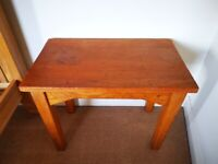 Rustic Small Solid Wood Table *Open to offers*