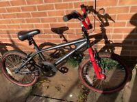Child's Muddy Fox BMX bike