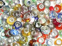 Pandora style beads and Tibetan silver charms plus other beadcraft items