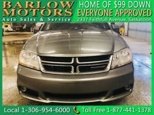 2012 Dodge Avenger SXT | $99 DOWN EVERYONE APPROVED!!!