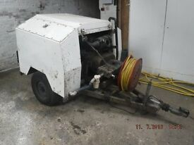 4000 psi trailer Jetting Unit