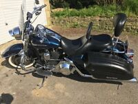 Harley Davidson Road King Custom, well looked after, low mileage and many extras, dry weather only