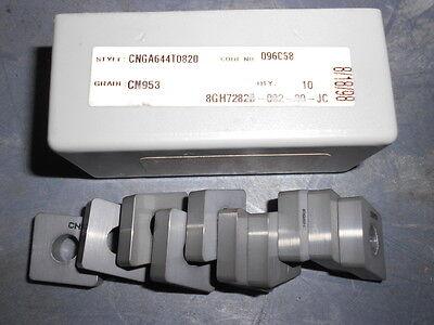 RTW CNGA644T0820 CN953 Ceramic Inserts Qty. 10