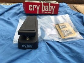 Jim Dunlop GCB95F Crybaby Classic Wah Pedal with Fasel