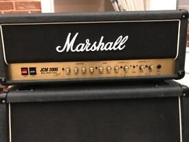 Marshall Amplifier JCM2000 DSL100 Head A(NEW PCB) & 4 x 12 Cabinet