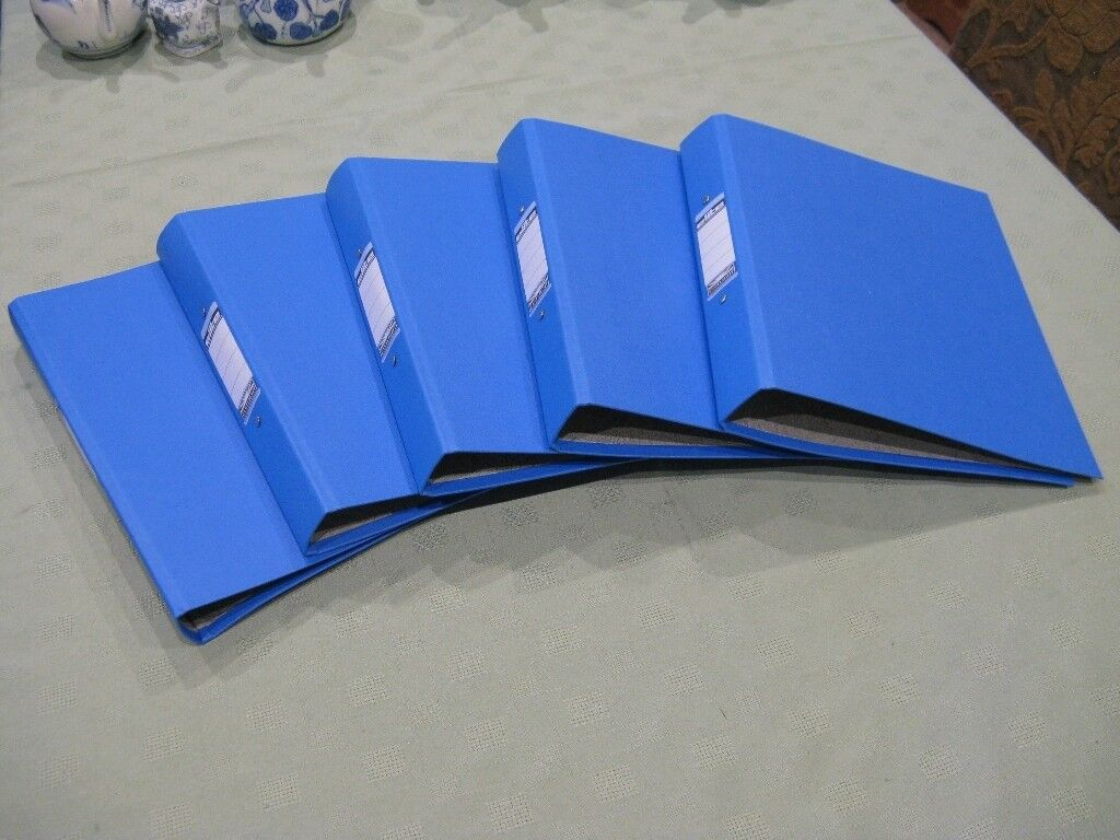 A4 size ring binders