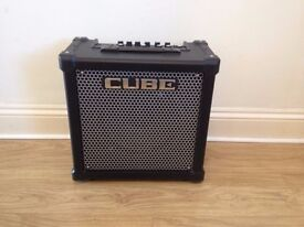 Roland Cube 40gx guitar amp, brand new condition,10 months old,home use only.