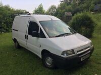 Fiat Scudo 1.9 D EL 2002 White // NEW M.O.T. //