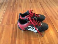 Canterbury rugby boots boys size 13