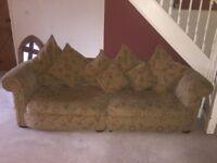 Large 4 seater sofa
