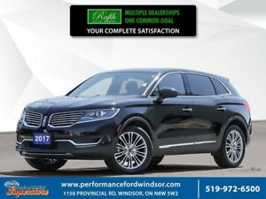 2017 Lincoln MKX Reserve ***AWD, NAV, sunroof***