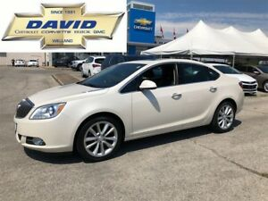 2014 Buick Verano 1SL/ LEATHER/ REMOTE START/ NAV/ 18in WH./ BOS