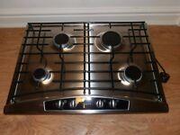 Stainless Steel T2734N0 Neff 70cm wide 4 Burner Gas Hob
