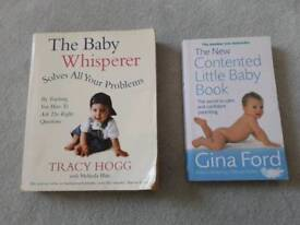 The Baby Whisperer & Gina Fords Contented Little Baby books