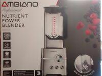 BRAND NEW STILL IN BOX 2000w stainless steel nutrient power blender