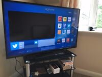 "48"" smart TV+ SOFA + BED + MATTRESS + VARIOUS ITEMS MUST GO FAST!"