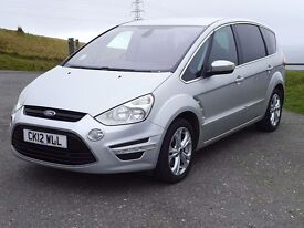 New MOT & Service- Roomy 7 Seater: 2012 Ford S-Max Titanium 2.2 TDCi, FSH, 6Speed, YouTube Video