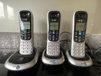 BT 2200 trio home phones