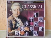Boxed Classical Music CD's Set