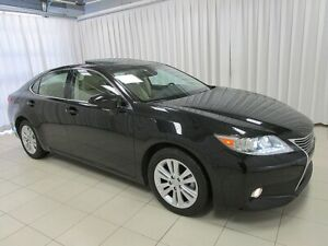 2013 Lexus ES 350 THE MOST COMFORTABLE MIDSIZE SEDAN IS HERE AND