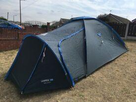 Aztec Solana 5 man Tent. 1500mm Head. Good Condition. 2 Door. All Kit