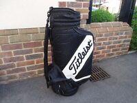 Titleist Golf Bag and 5 clubs
