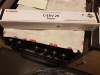 CANON C-EXV 29 BLACK TONER