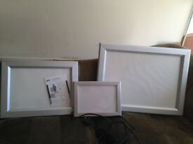 3 x Lighter Boxes Almost new (Sizes 70 x 53, 50 x 40, 34 x 25)