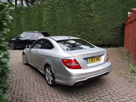 2012 Mercedes Benz C250 AMG Coupe - 12 Months MOT