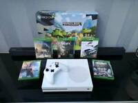 XBOX ONE S 1TB ALL BOXED WITH 5 TOP GAMES
