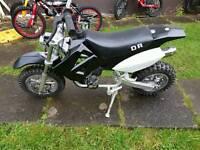 Dr 50cc pit bike