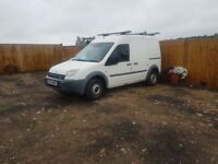 Ford transit t203l connect 2004/54 1.8 turbo deisel twin side loading doors