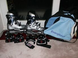 Ladies Streetwolf Roller Blades size 4