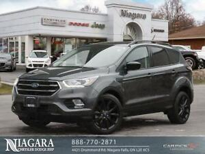 2018 Ford Escape SE   FWD   BLACKED OUT   BACKUP CAM   CLEAN!