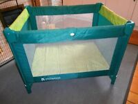 TRAVEL COT / PLAYPEN IN SPOTLESS CONDITION