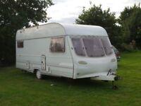 Avondale Ulysses 5 Birth Caravan - great family caravan in need of some tlc