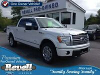 2011 Ford F-150 Platinum 4WD...1-owner, Moonroof, Heated/Cooled
